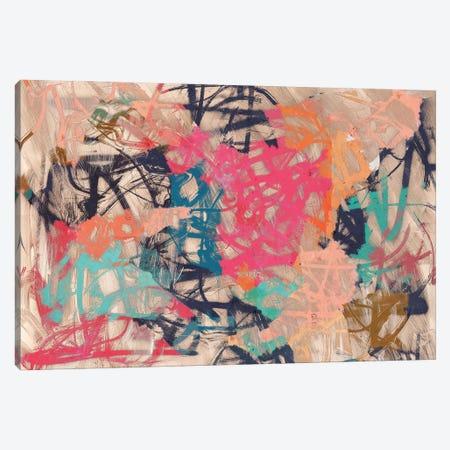 Abstract Love Canvas Print #MXC61} by Maximiliano Casal Canvas Art Print