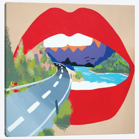 Winding Road Canvas Print #MXM102} by Max Mayoral Canvas Art