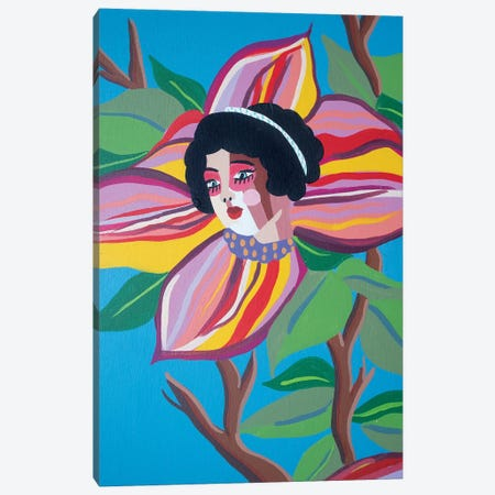 Floral Canvas Print #MXM38} by Max Mayoral Canvas Art