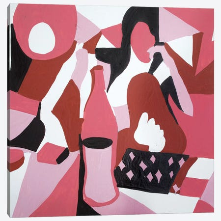 Abstract Canvas Print #MXM5} by Max Mayoral Canvas Artwork