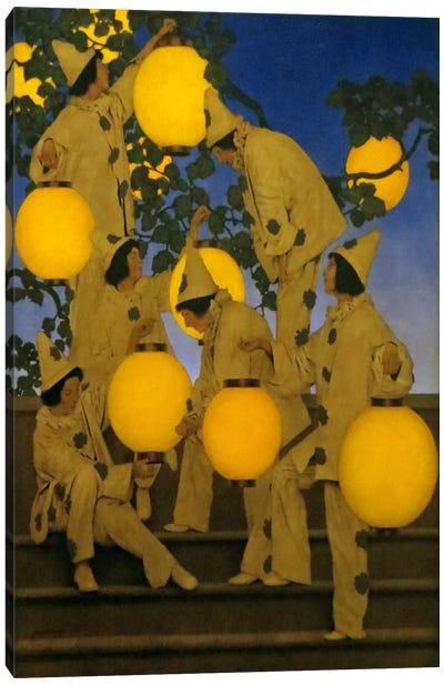 The Lantern Bearers Canvas Art Print