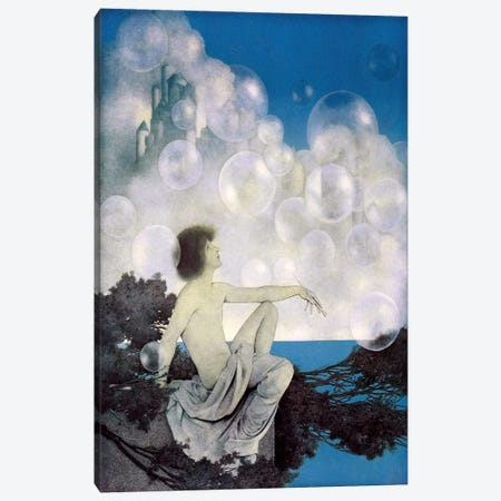 Air Castles Canvas Print #MXP1} by Maxfield Parrish Art Print