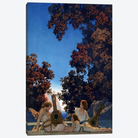 Land of Make Believe Canvas Print #MXP5} by Maxfield Parrish Canvas Art