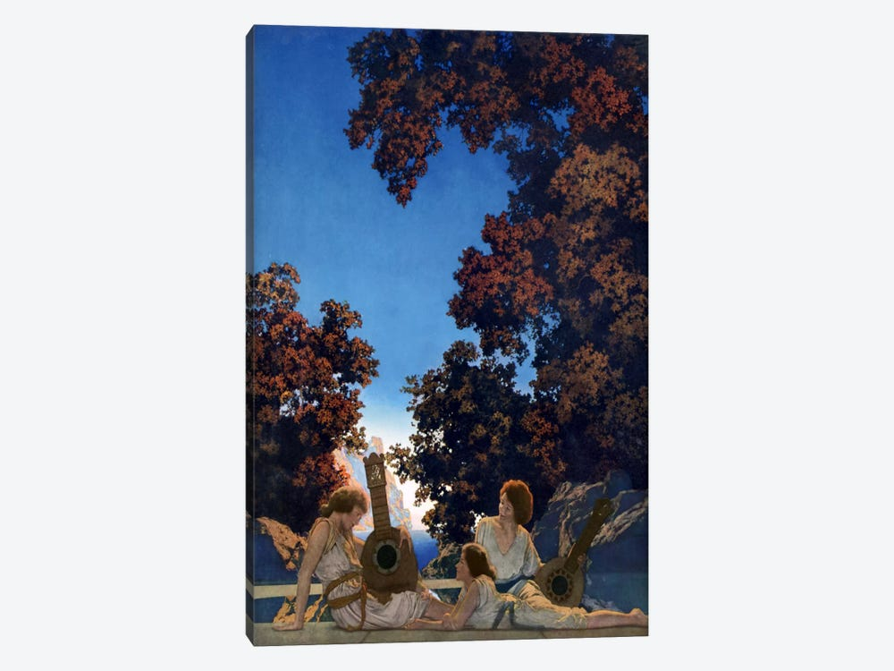 Land of Make Believe by Maxfield Parrish 1-piece Canvas Print