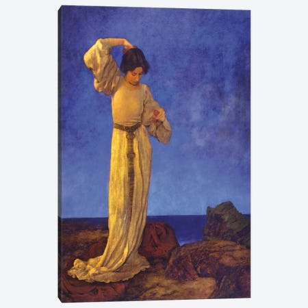 Griselda Canvas Print #MXP6} by Maxfield Parrish Canvas Artwork