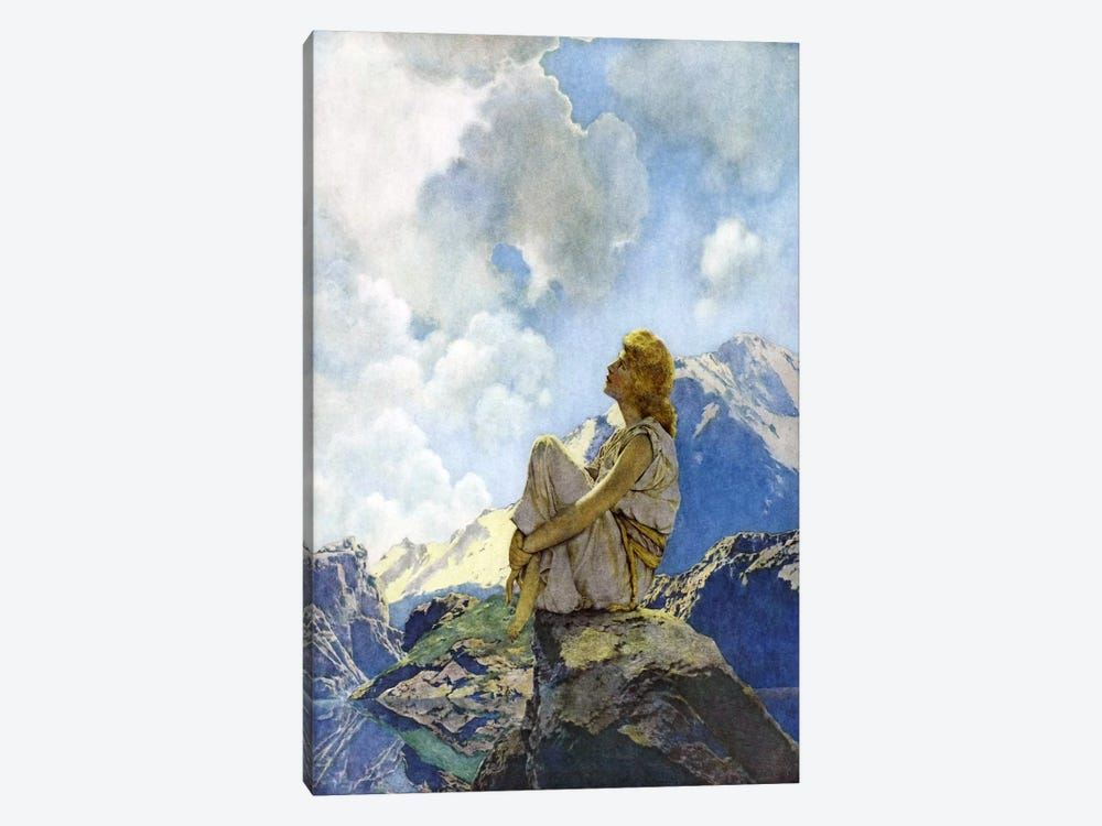 Morning by Maxfield Parrish 1-piece Canvas Print