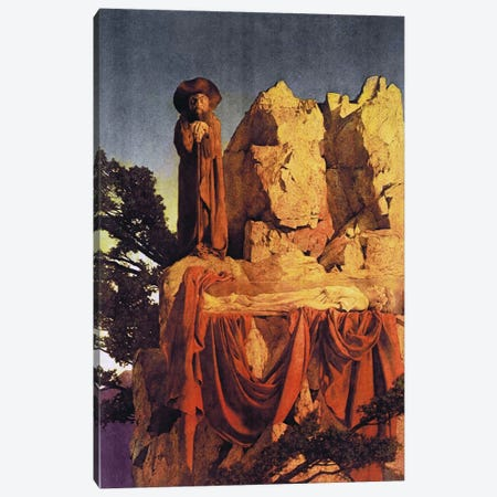 From the Story of Snow White Canvas Print #MXP9} by Maxfield Parrish Canvas Print