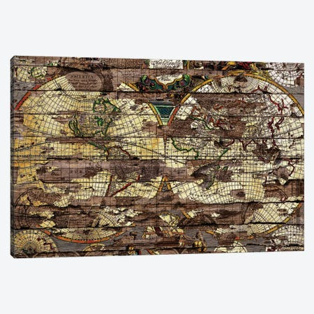 Secret Map Canvas Print #MXS100} by Diego Tirigall Canvas Wall Art