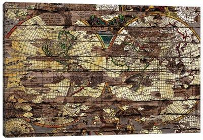 Secret Map Canvas Print #MXS100
