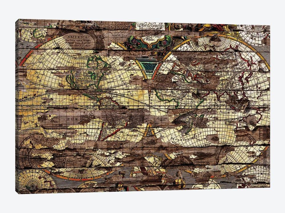 Secret Map by Diego Tirigall 1-piece Canvas Wall Art