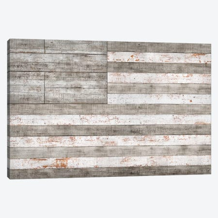 Stars & Stripes in White Canvas Print #MXS104} by Diego Tirigall Canvas Print