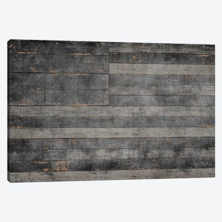 Stars & Stripes in Black Canvas Print #MXS105} by Diego Tirigall Canvas Art Print