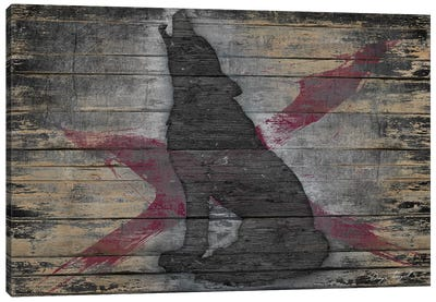 Lone Wolf Canvas Print #MXS106