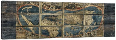 Panoramic Old World Canvas Art Print