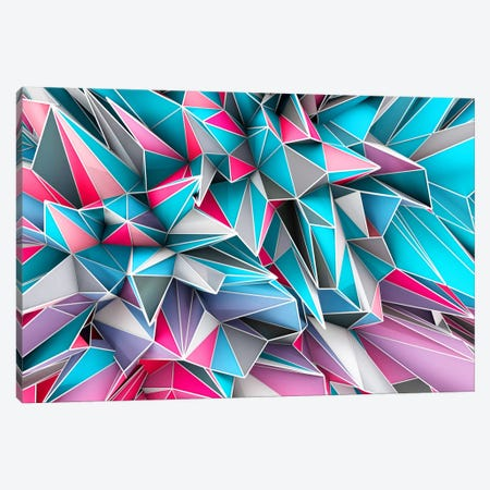 Kaos Sky Canvas Print #MXS10} by Diego Tirigall Canvas Artwork