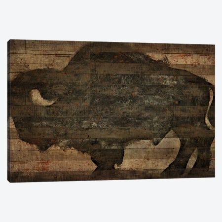 Buffalo I Canvas Print #MXS112} by Diego Tirigall Art Print