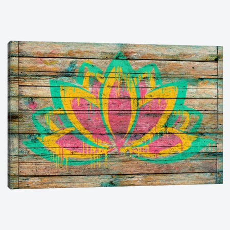 Lotus Flower Canvas Print #MXS116} by Diego Tirigall Canvas Artwork