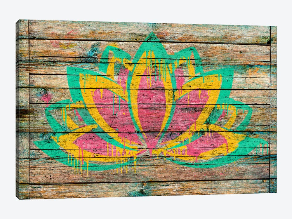Lotus Flower by Diego Tirigall 1-piece Art Print