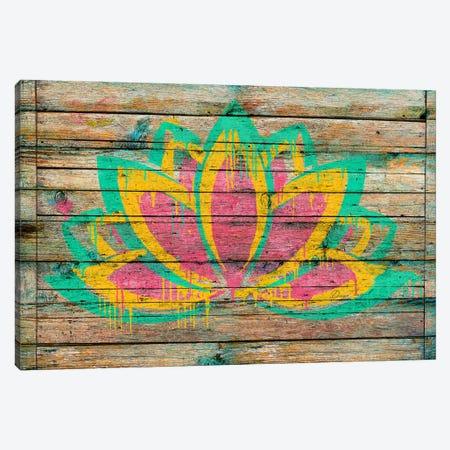 Lotus Flower Canvas Print #MXS116} by Diego Tirigall Canvas Artwork