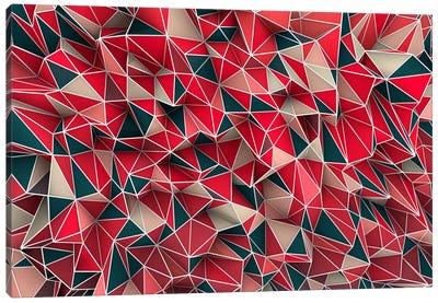 Kaos Red Canvas Print #MXS11
