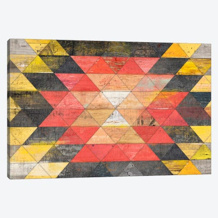 Reclaimed Triangle Pattern Canvas Print #MXS122} by Diego Tirigall Canvas Art