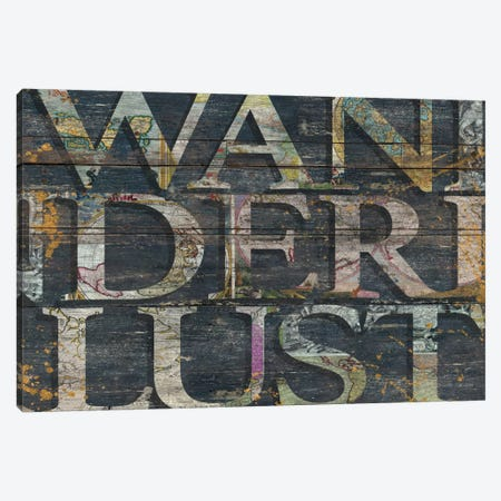 Reclaimed Wanderlust Canvas Print #MXS123} by Diego Tirigall Canvas Wall Art