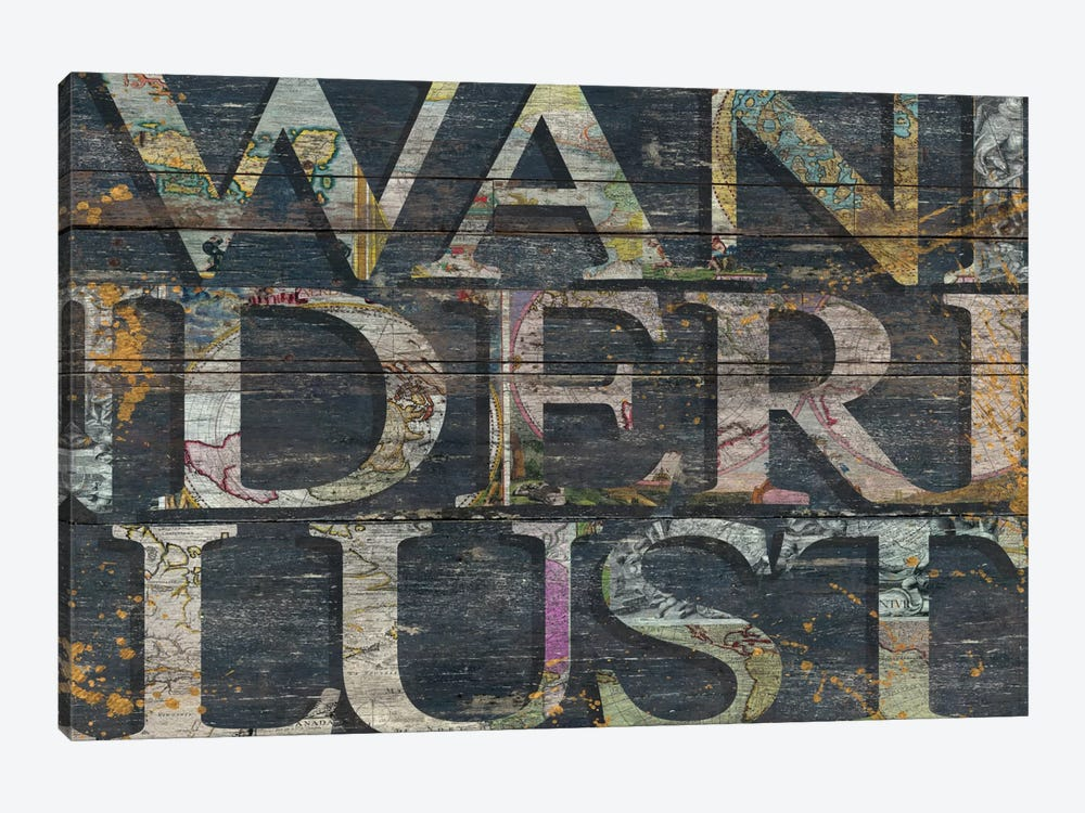 Reclaimed Wanderlust by Diego Tirigall 1-piece Canvas Art Print