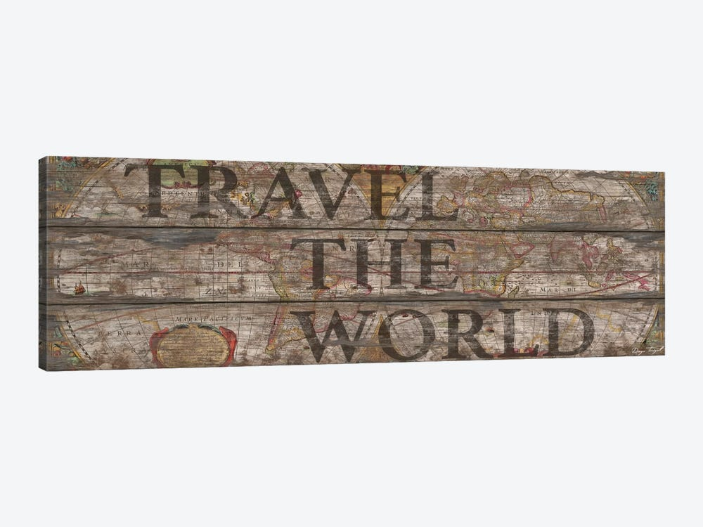 Travel The World by Diego Tirigall 1-piece Canvas Art