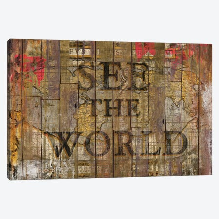 See The World Canvas Print #MXS127} by Diego Tirigall Art Print