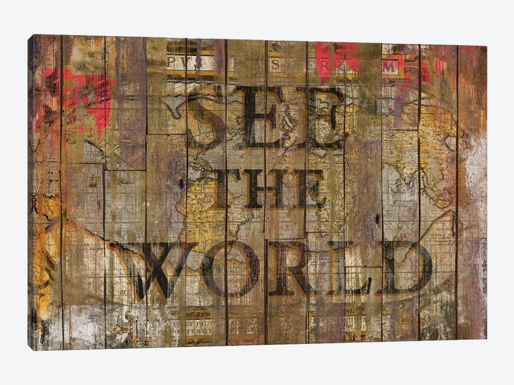See The World by Diego Tirigall 1-piece Art Print