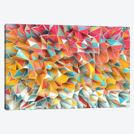 Kaos Summer Canvas Print #MXS12} by Diego Tirigall Canvas Artwork