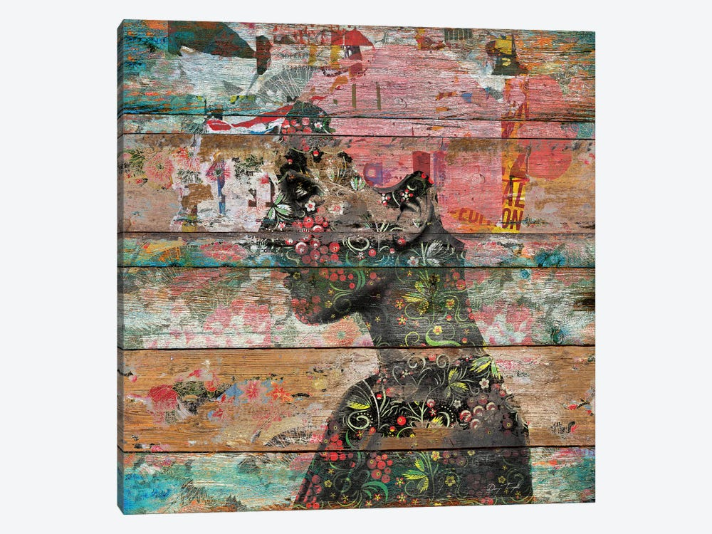 Inner Nature (Profile Of Woman) by Diego Tirigall 1-piece Canvas Art Print