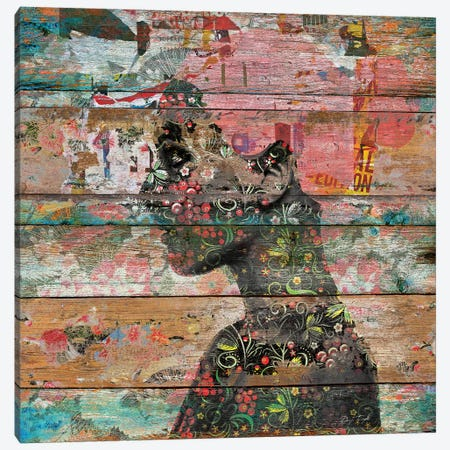 Inner Nature (Profile Of Woman) Canvas Print #MXS130} by Diego Tirigall Canvas Art Print