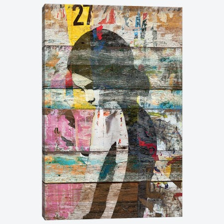 Shyness (Profile Of Child) Canvas Print #MXS131} by Diego Tirigall Art Print