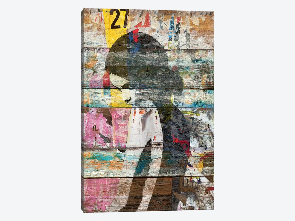Shyness (Profile Of Child) by Diego Tirigall 1-piece Canvas Artwork
