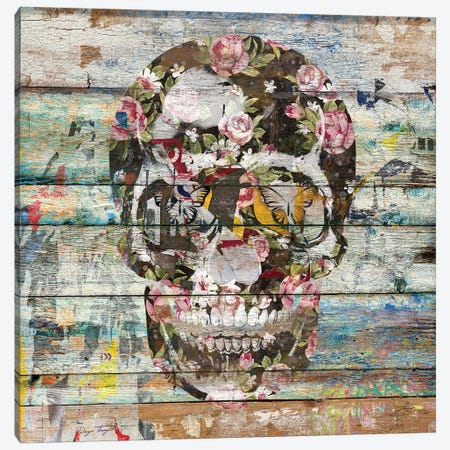 Under The Watchful Eye (Skull) Canvas Print #MXS132} by Diego Tirigall Canvas Print