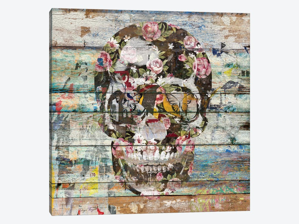 Under The Watchful Eye (Skull) by Diego Tirigall 1-piece Art Print