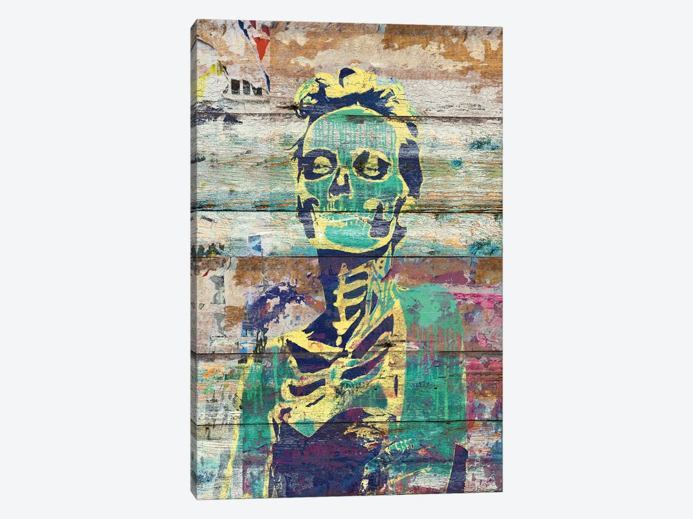 Life And Death (Sugar Skull Girl) by Diego Tirigall 1-piece Canvas Print