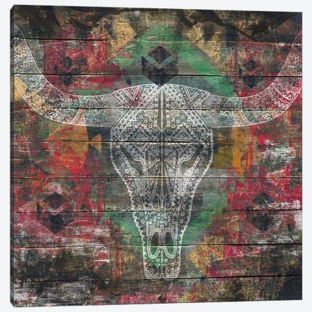 Ancestors (Cow Skull) Canvas Print #MXS136} by Diego Tirigall Canvas Artwork