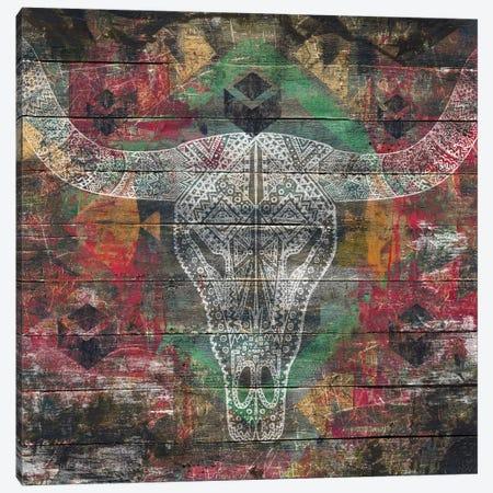 Ancestors (Cow Skull) Canvas Print #MXS136} by Diego Tirigall Canvas Artwork