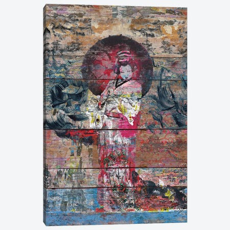 Airando Geisha (Island Woman) Canvas Print #MXS137} by Diego Tirigall Canvas Art