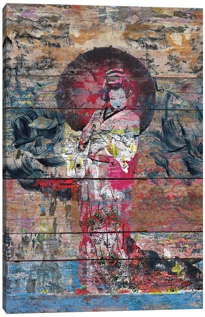 Airando Geisha (Island Woman) Canvas Art Print