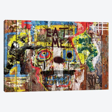 Eat Me (Repression) Canvas Print #MXS138} by Diego Tirigall Art Print