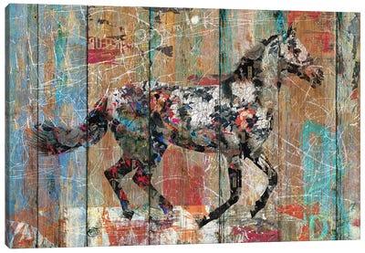Source of Life (Wild Horse) Canvas Art Print