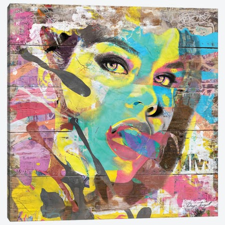 She's All That Canvas Print #MXS143} by Diego Tirigall Canvas Wall Art
