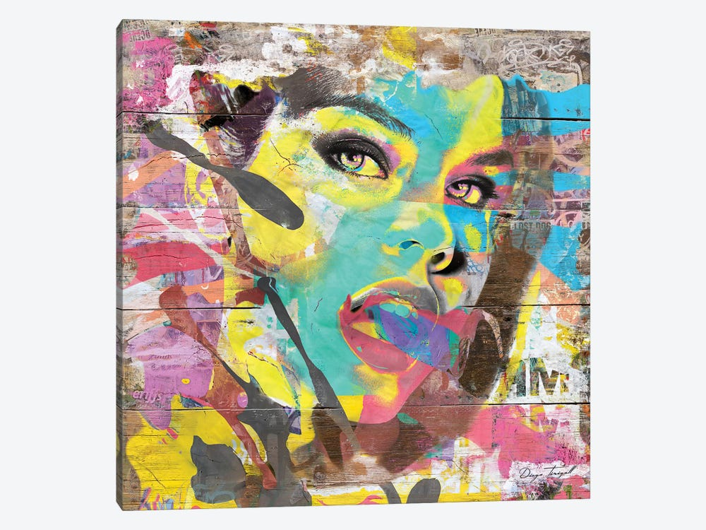 She's All That by Diego Tirigall 1-piece Canvas Print