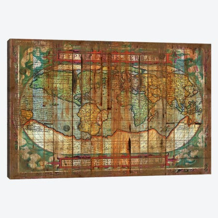 Antique World Canvas Print #MXS144} by Diego Tirigall Art Print