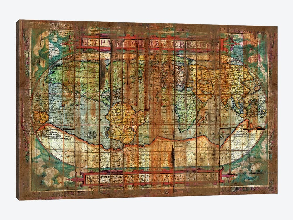 Antique World by Diego Tirigall 1-piece Canvas Art