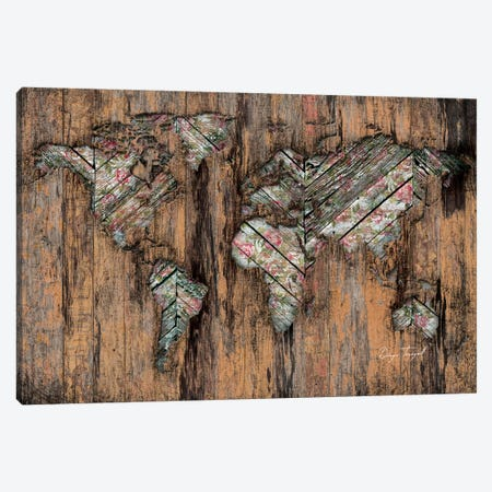 The Divided Continent Canvas Print #MXS149} by Diego Tirigall Canvas Artwork