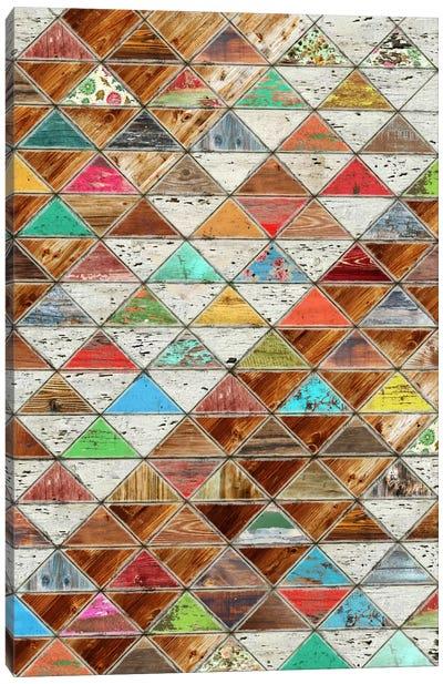 Love Pattern Canvas Art Print